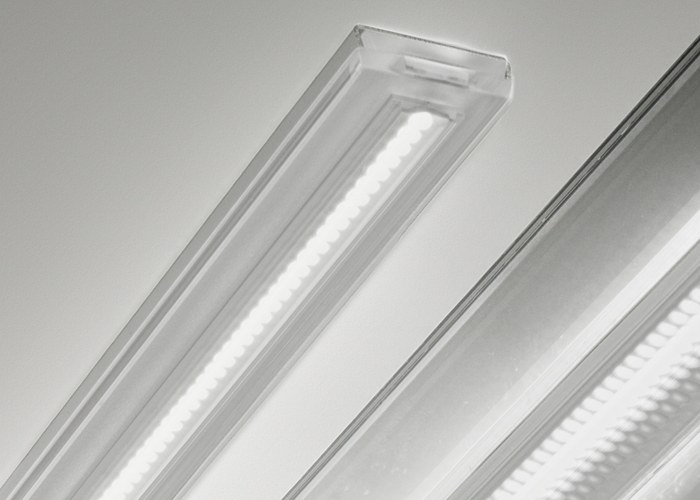 Gamma illuminazione led illuminazione d 39 interni lampade per bagno cucina zona giorno rd studio - Lampade a led per cucina ...